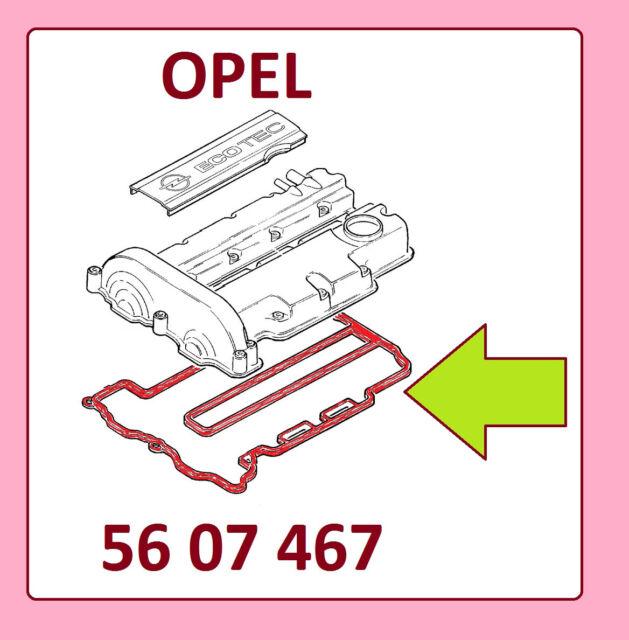 OPEL CORSA C  Ventildeckeldichtung  1.2i 75PS , 1.2 Twinport 1.4 Twinport