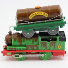 Thomas & Friends PERCY CHOCOLATE CRUNCH Trackmaster Motorized Train 2006 HIT TOY
