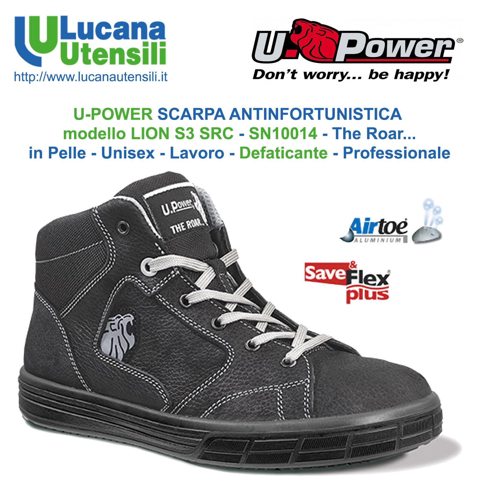 Upower Sicherheitsschuhe Lion S3 Src Haut Arbeit Unisex Schuhe Angebot