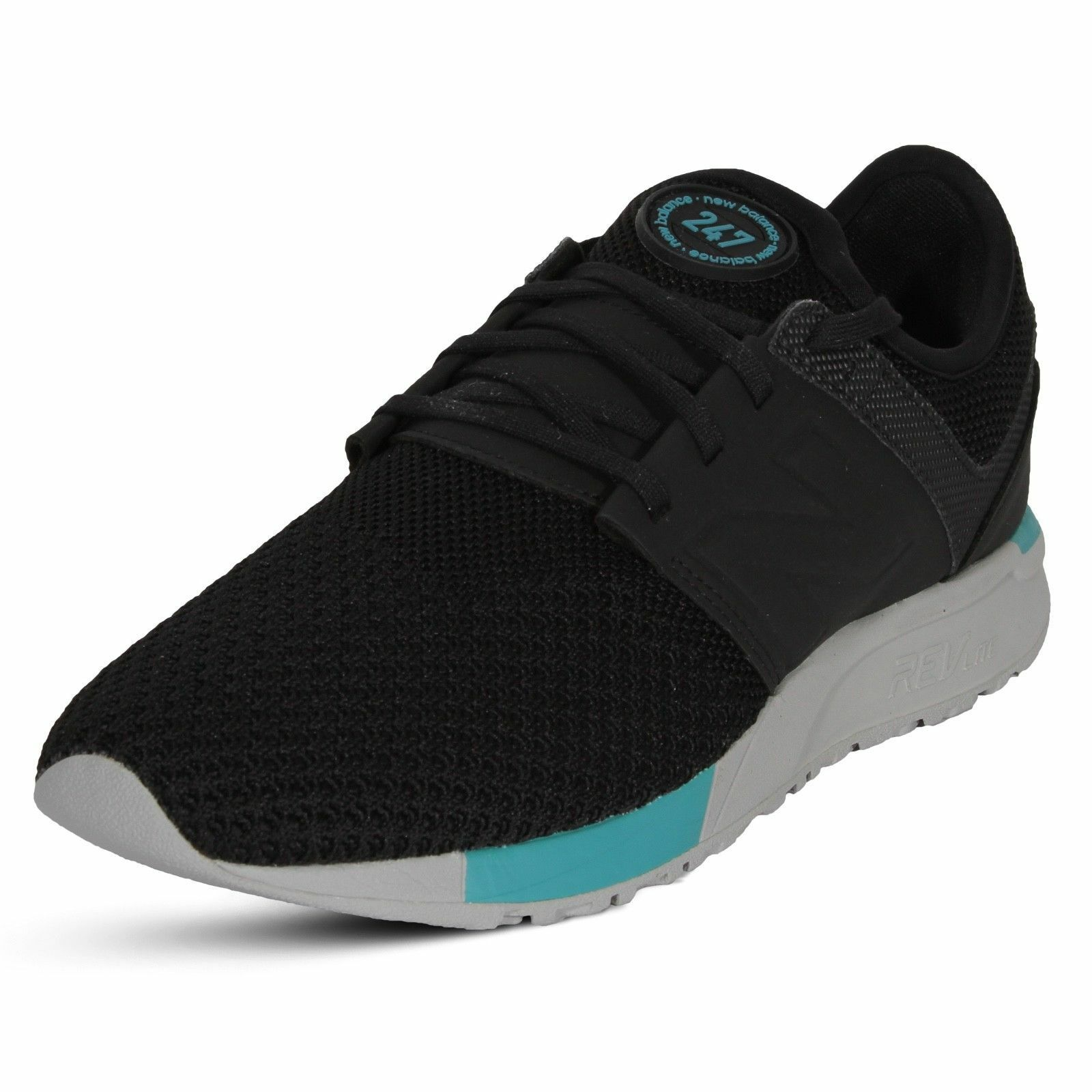 2018 clásico deportivo para hombre Tenis New Balance's con Cordones Tenis hombre Zapatos  MRL247KB Negro 96a4a9