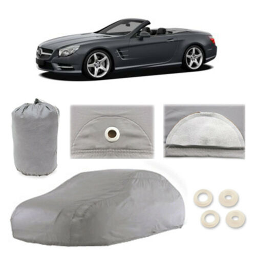 Mercedes-Benz SL550 4 Layer Car Cover Fit Outdoor Water Proof Rain Snow Sun Dust