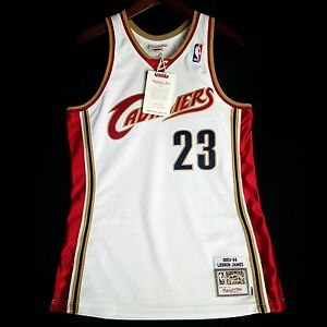b69f6ee229d5 100% Authentic Lebron James Mitchell Ness 03 04 Cavaliers Jersey ...