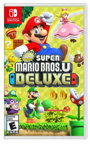 New Super Mario Bros. U Deluxe (Nintendo Switch, 2019) *SEALED* BRAND NEW!