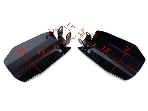 Memphis Shades Hand Guards For Harley 07-up baggers Bikes W// Original Controls