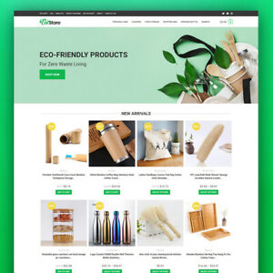 Dropshipping Store - Eco-Friendly Goods - Turnkey Website Business For Sale