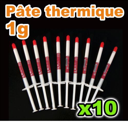 XBOX CPU 1521//10# Pâte thermique en seringue de 1g  10pcs