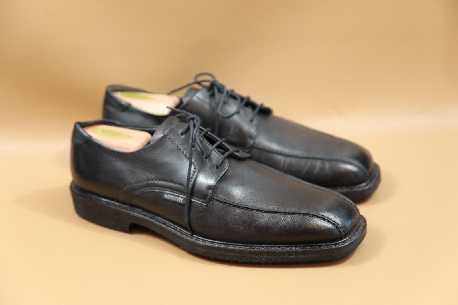 27 MEPHISTO Gaetan Black Oxfords Size 9