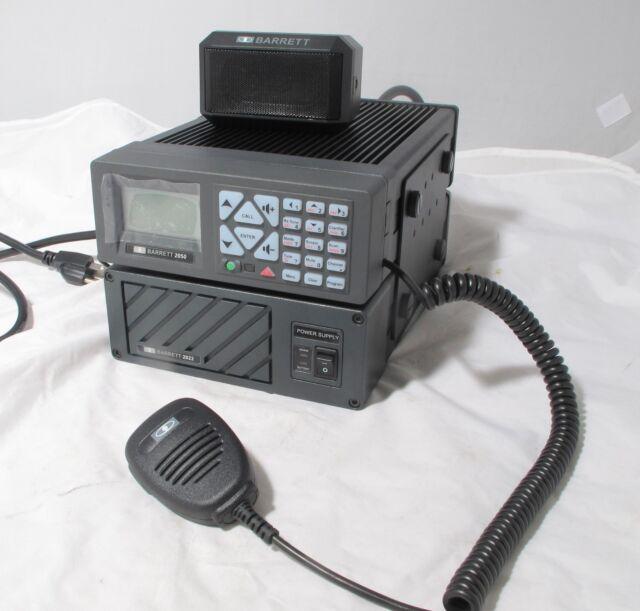Barrett 2050 HF SSB Ale Transceiver 500ch 1 6-30 MHz 125w Pep W/power Supply