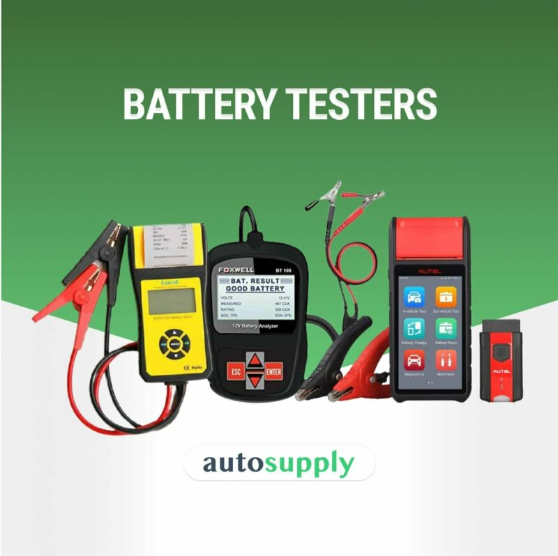 Supplier of Battery Testers   AutoSupply.co.za - Best Prices & Quick Delivery