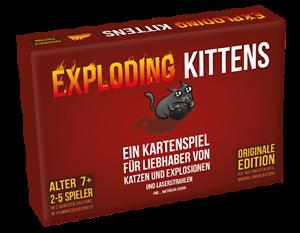Exploding Kittens DEUTSCH OVP! Original Edition Kartenspiel
