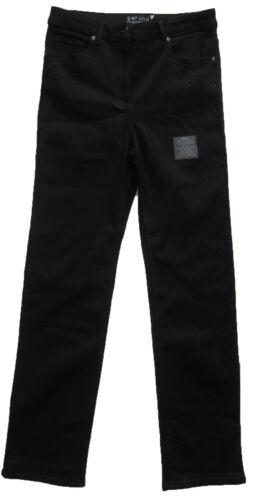 Una Per Long taglia Marks neri Womens Spencer 12 Jeans Short New 10 T7xtwIgqx
