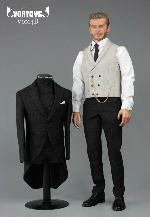 1 6 Gentleman Suit Set Royal Wedding British Tuxedo For Hot Toys Coomodel  USA