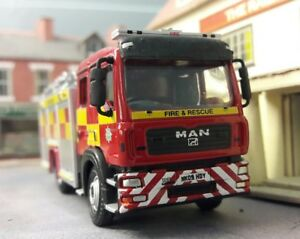 Man-Jdc-John-Dennis-Durham-Rescate-Fuego-Motor-Modelo-1-76-Oo-00-Oxford