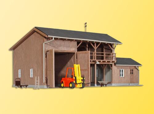 Kibri 39815 pista h0 cobertizo para herramientas con carretillas elevadoras #neu en OVP #