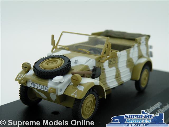 VOLKSWAGEN VW KUBELWAGEN MODEL CAR TYP 82 UKRAINE 1 43 SIZE 1945 MILITARY ARMY T