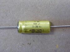 Lot x10 - capacitor condo condensateur 100µF 100uF 100MF 25v CO31 85°C SIC SAFCO