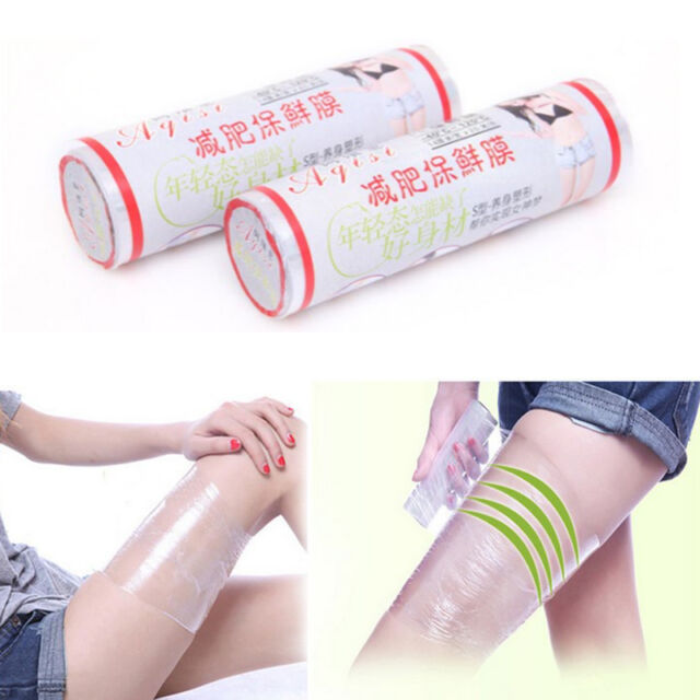 Osmotic Plastic Bodies Wrap Paper Cellulite Waist Burning Osmotica 1Roll New
