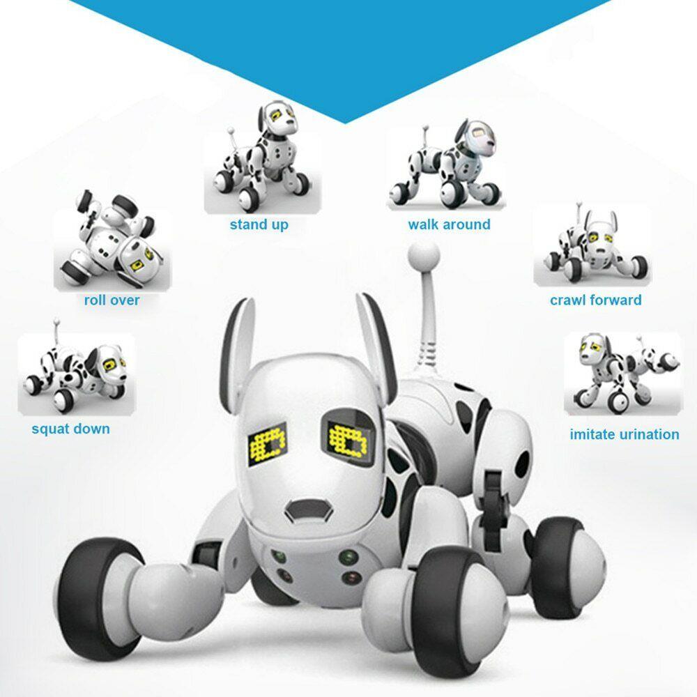 Smart Robot Dog 2.4G Wireless Remote Control Kids Toy Intelligent Talking Robot