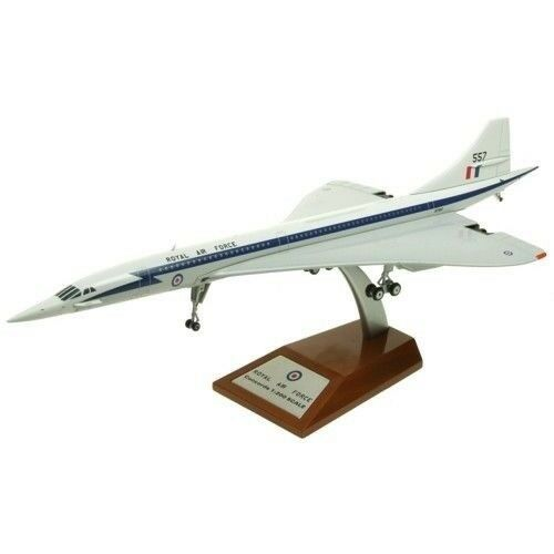 IFCONCRAF01 1/200 Raf 1968 Anno Libro Concorde Xt557 W/Stand - Only 120 Modelli