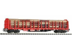 Piko-54339-Gueterwagen-Stammholztransportwagen-Ladung-neu-OVP