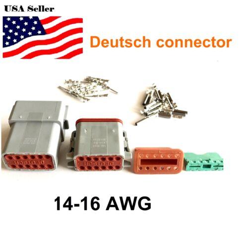 12-Pin Deutsch DT06-12S DT04-12P Engine Gearbox waterproof electrical connector