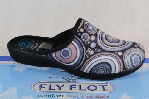 FLY FLOT Pantofole Da Donna Sandali Pantofole blu NUOVO!