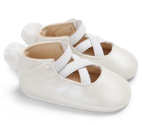 New Arrived So Lovely Baby Girl Pram Shoes Infant Soft Sole Trainers 3 6 9 12 18
