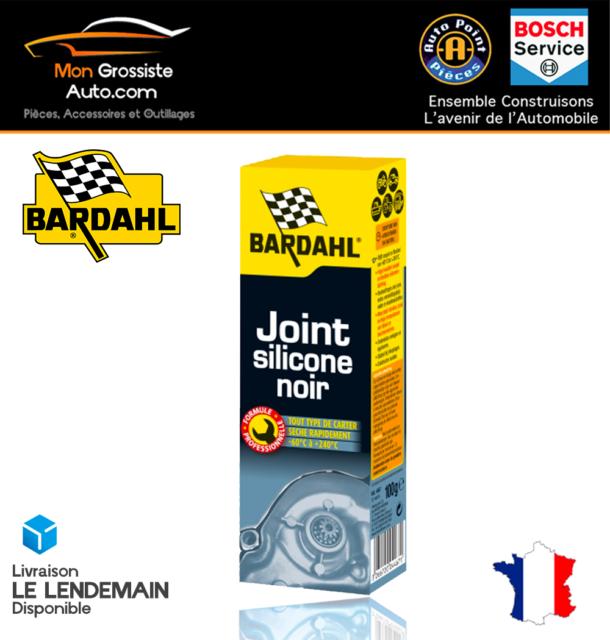 BARDAHL Joint Silicone Noir 100g Réf: 4875 Qualité PRO!