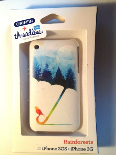 Griffin + threadless RAINFORESTS Ultra slim Shell case for iPhone 3G 3Gs