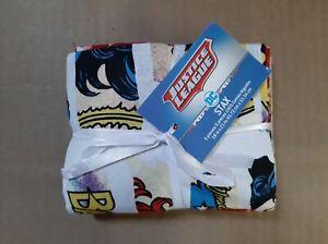 5-Pieces-Fat-Quarters-DC-Comics-Heriones-Bat-Girl-Wonder-Woman-Stax-100-Cotton