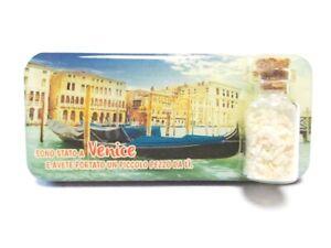 Venice-Lagoon-Photo-Magnet-9cm-Epoxy-Sandflaschen-Souvenir-Italy