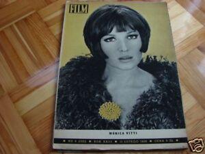 Monica Vitti cover Polish mag FILM 1968 - Pyszkowo, Polska - Monica Vitti cover Polish mag FILM 1968 - Pyszkowo, Polska