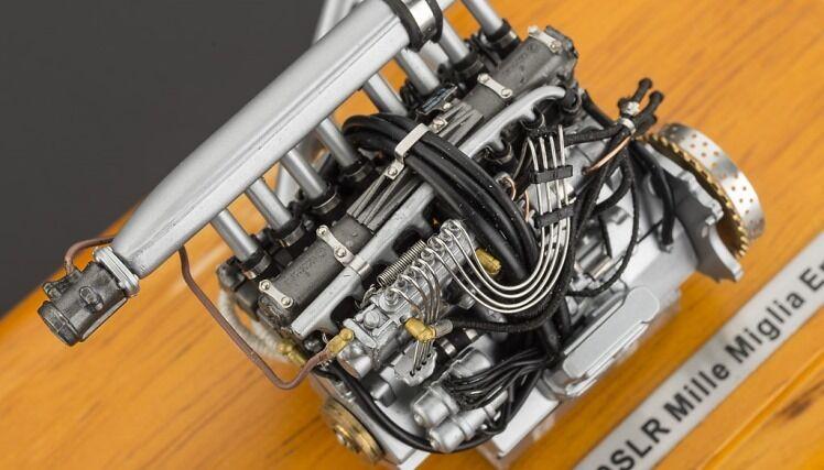 Mercedes - benz 300 slr - motor ein diecast modell im maßstab m-120 cmc - 18