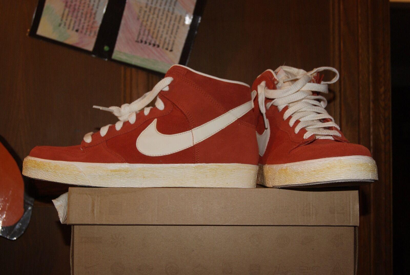 Para Hombre Nike Dunk Alto o CA naranja oscuro Cobre Vela o Alto 11.5 99f67c