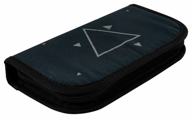 Zirkel-Etui 10-teilig Federmappe Lineal Zirkelset Druckbleistift 42111 Stylex
