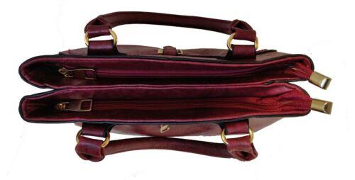 Donna Borsetta Designer in Pelle Tote Ragazza Borsetta Croce Corpo Party Bag LOTUS 78812