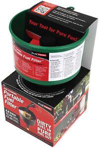 FloTool-Mr-Funnel-Green-F3NC-Fuel-Filter-Petrol-Diesel-Heating-Oil-Kerosene
