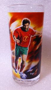 Taza-de-Agua-Coleccion-UEFA-Figo-Portugal-Euro-2004-Futbol-Coca-cola