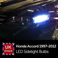 Honda Accord 1997-2012 6000k Xenon White LED Side Light sidelights Bulbs