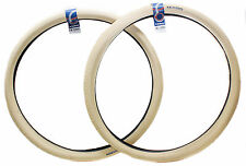 2QTY Rubena V99 City Hopper Bike Tire 29er/700c x 2.00 Wire Bead Cream New