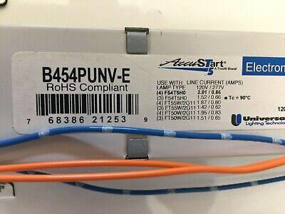 B454PUNV-E UNIVERSAL ACCUSTART ELECTRONIC BALLLAST 120//277V