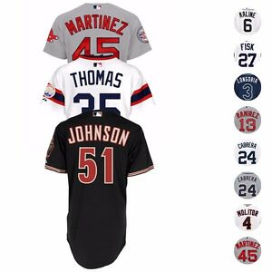 MLB-Official-Majestic-Authentic-On-Field-Home-Away-Alt-Cool-Base-Jersey-Men-039-s
