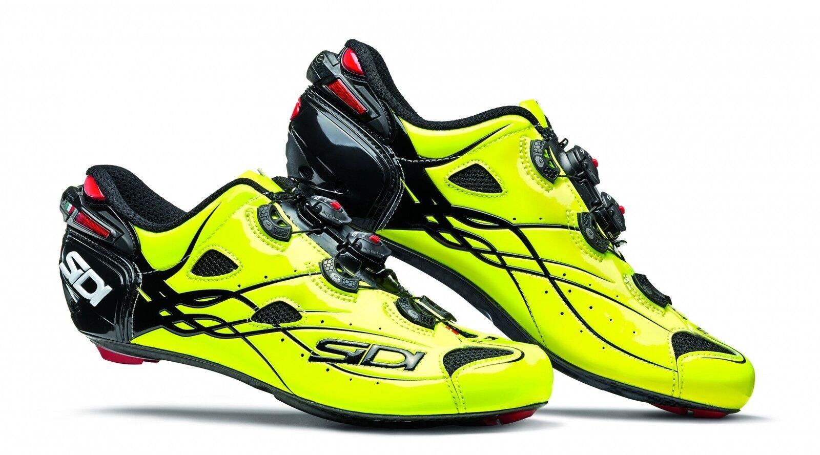 Schuhe Bici Da Corsa SIDI Shot Carbon Per Bicicletta Strada Road Sport Ciclismo
