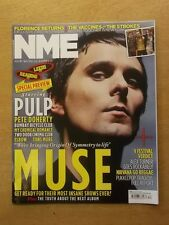 NME AUGUST 27 2011 FLORENCE AND THE MACHINES THE VACCINES STROKES MUSE NIRVANA