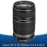 Canon Ef-s 55-250mm F/4-5.6 Is Ii Lens For Canon T6i T3i T5i T5 T4i 60d 70d Sl1