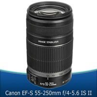 Canon Ef-s 55-250mm F/4-5.6 Is Ii Lens For Canon Digital Slr Camera –
