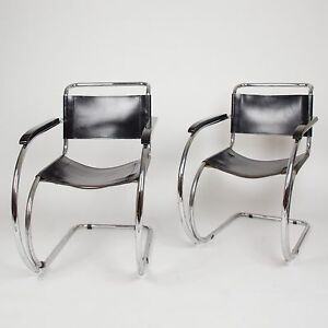 Knoll International Mies Van Der Rohe Mr20 Sessel Bauhaus Eames 2
