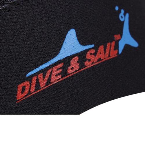 3mm Neopren Nassanzug Kapuze Tauchen Surfen Tauchen Schnorcheln Thermo