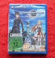Sword Art Online Hollow Realization, Sony Psvita Spiel Playstation Vita, Neu