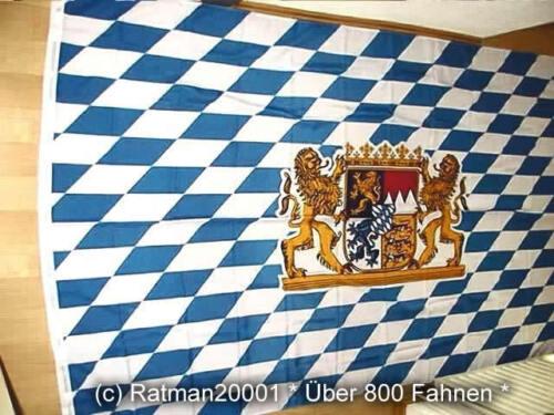 150 x 250 cm Fahnen Flagge Bayern Bavaria Lion